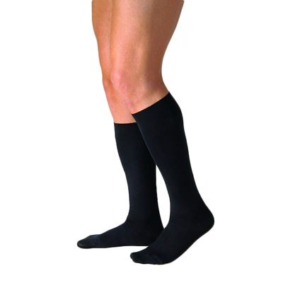 Picture of JOBST CASUAL SOCKS BLACK
