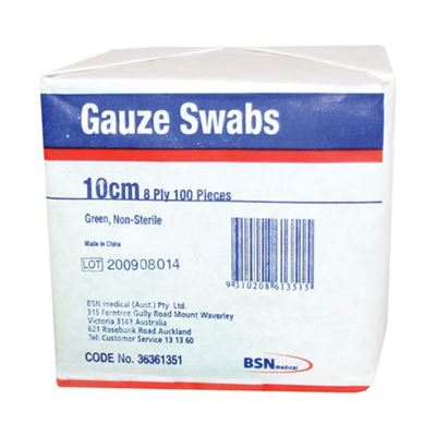 Picture of GAUZE SWABS