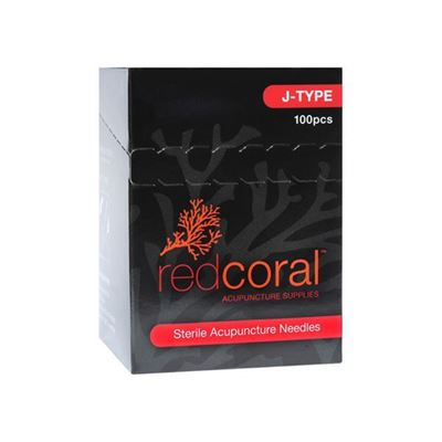 Picture of RED CORAL J-TYPE NEEDLES