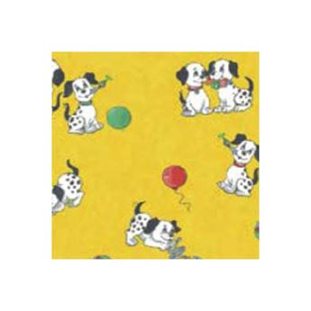 PUPPIES YELLOW TRANSFER PAPER