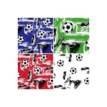 SOCCER BALL TRANSFER PAPER