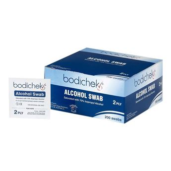 Picture of BODICHECK ALCOHOL WIPES (200)