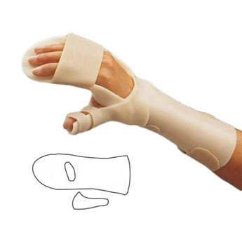 Picture of ORFIT ANTI-SPASTIC SPLINT & THUMB PIECE
