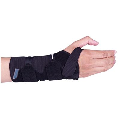 Picture of SELECTION WRIST RIGID BRACE WITH ALUMINIUM STAY