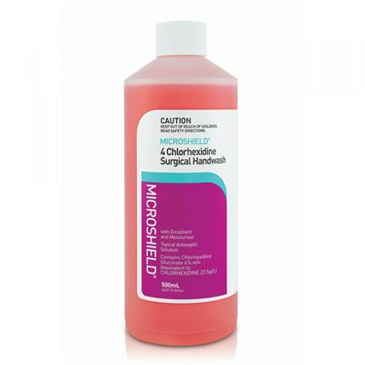 Picture of MICROSHIELD 4 SURGICAL HANDWASH 500ML